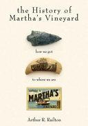 The History of Martha s Vineyard