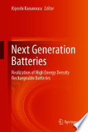 Next Generation Batteries Book
