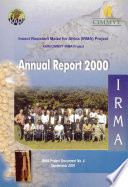 Insect Resistant Maize for Africa  Annual Report 2000 Book
