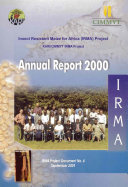 Insect Resistant Maize for Africa  Annual Report 2000