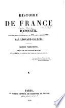 Histoire de France d'Anquetil