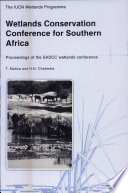 Wetlands Conservation Conference for Southern Africa Book