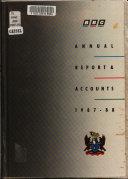 BBC Annual Report & Accounts 1987/88