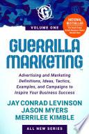 Guerrilla Marketing Book