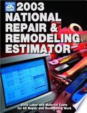 National Repair and Remodeling Estimator
