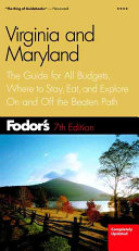 Fodor s Virginia and Maryland