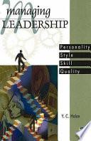 Managing Leadership