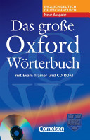 Das Grosse Oxford Worterbuch: Trainer Pack