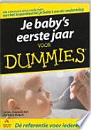 Je Baby S Eerste Jaar Voor Dummies