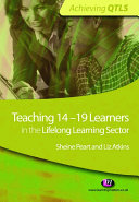 Teaching 14 19 Learners in the Lifelong Learning Sector