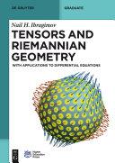 Tensors and Riemannian Geometry