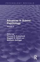 Advances in School Psychology  Psychology Revivals