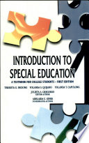 """Introduction to Special Education' 2007 Ed."" by Inciong, Et Al"