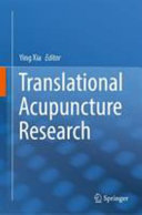 Translational Acupuncture Research