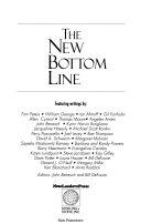 The New Bottom Line