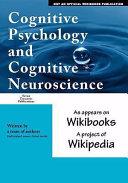 Cognitive Psychology and Cognitive Neuroscience
