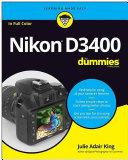 Nikon D3400 For Dummies Pdf/ePub eBook
