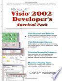Visio 2002 Developer's Survival Pack