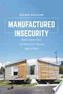 Manufactured Insecurity Book