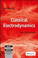 Cover of CLASSICAL ELECTRODYNAMICS, 3RD ED