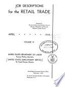 Job Descriptions for the Retail Trade