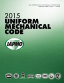 2015 Uniform Mechanical Code
