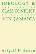Pdf Ideology and Class Conflict in Jamaica Telecharger