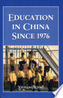 Education in China Since 1976 Book