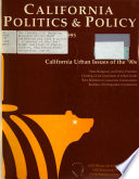 """California Politics & Policy  : A Journal of the """"Pat"""" Brown Institute of Public Affairs, California State University, Los Angeles"""