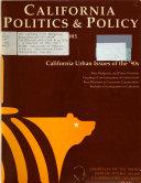 California Politics   Policy