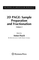 2D PAGE  Sample Preparation and Fractionation