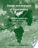 Design and Analysis of Experiments  Minitab Manual Book