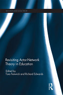 Revisiting Actor-Network Theory in Education Pdf/ePub eBook