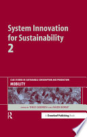 System Innovation for Sustainability 2 Book