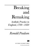 Breaking and Remaking Book