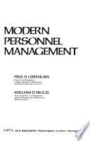 Modern Personnel Management