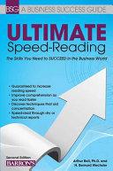 Ultimate Speed Reading Pdf/ePub eBook