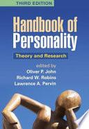Handbook of Personality  Third Edition