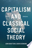 Capitalism And Classical Social Theory Third Edition