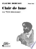 Claire de Lune Sheet Music