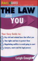 Cover of The Law and You