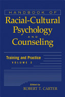 Pdf Handbook of Racial-Cultural Psychology and Counseling, Training and Practice Telecharger