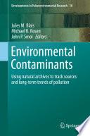Environmental Contaminants Book PDF