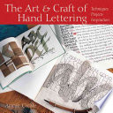 The Art   Craft of Hand Lettering