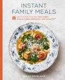 Instant Family Meals Pdf/ePub eBook