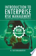 Introduction to Enterprise Risk Management