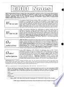 EBRI Notes