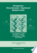 Organic Nonlinear Optical Materials