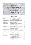Bulletin du Mus  e national de Varsovie