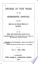 Annals of the Wars of the Nineteenth Century Book